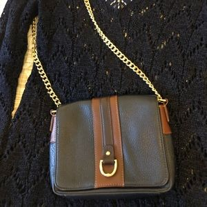 Talbots leather crossbody bag